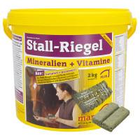 Marstall Stall-Riegel mineral- och vitamin bricka, vinter 2kg.