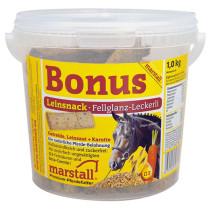 Marstall Bonus hästgodis Linfrö 1kg.