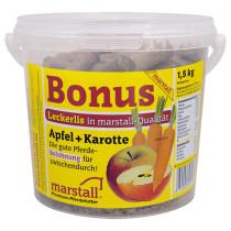 Marstall Bonus hästgodis Äpple-Morot 1,5kg.