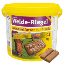 Marstall Weide-Riegel mineral bricka, sommar 2kg.