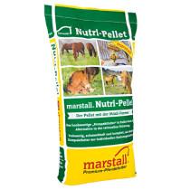 Marstall Nutri-pellet hästfoder 25kg.