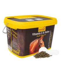 Marstall Vitamin E + selen 3kg.