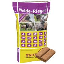 Marstall Weide-Riegel mineralkiks, bricka 20kg.