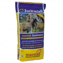 Marstall Zucht hästfoder 20kg.