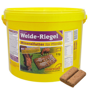 Marstall Weide-Riegel mineral bricka, sommer 5kg.