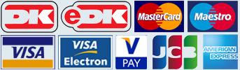 Betal trygt med kreditkort hos HH care